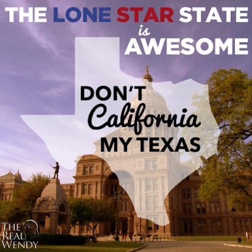 Don't California Texas
