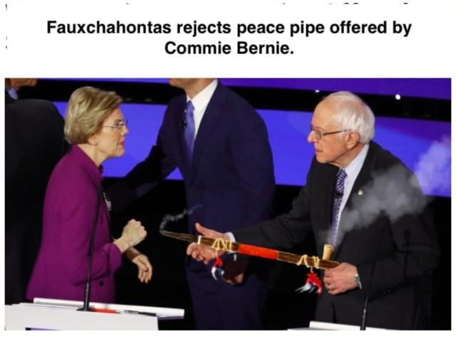 Fauxchahontas-Peace Pipe