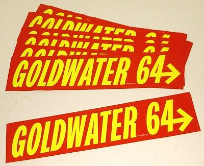 Goldwater '64 bumper stickers