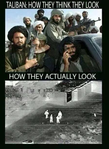 How the Taliban look