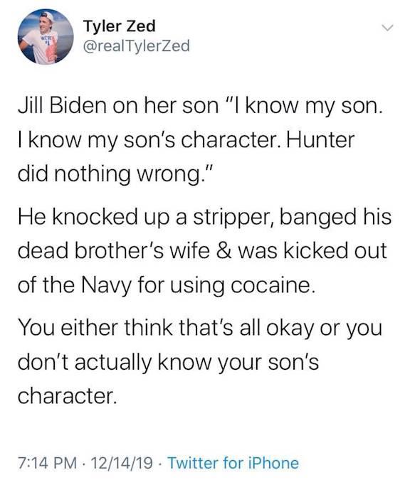Hunter Biden's character)