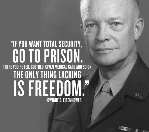 Ike on security