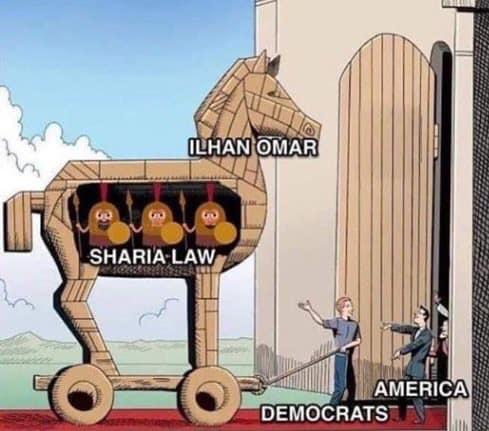 Ilhan Omar-Trojan Horse