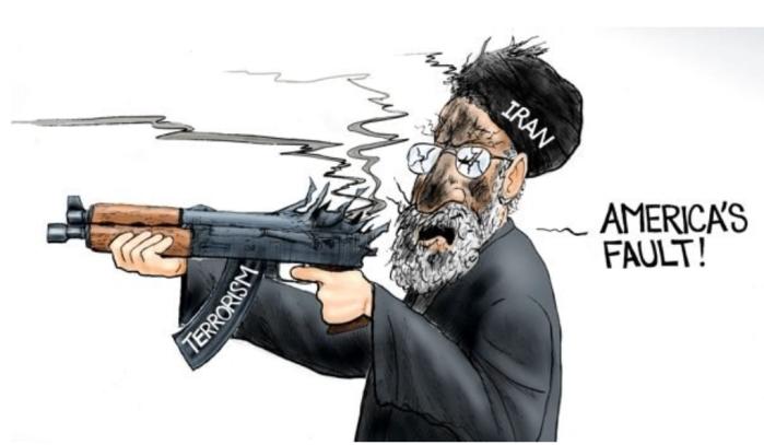 Iran-blame it on America