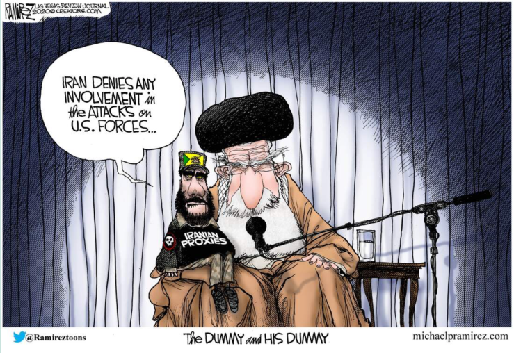 Iran-the Dummy and his Dummy