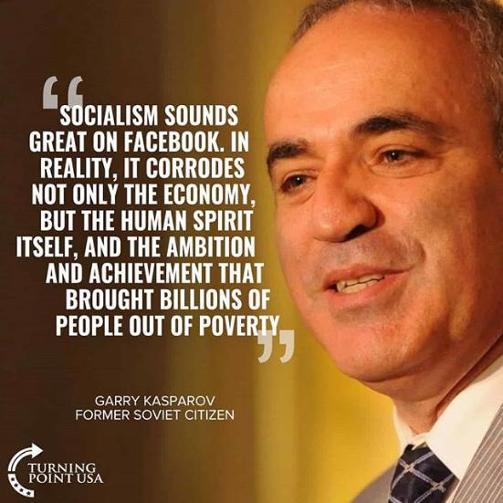 Kasparov on Socialism