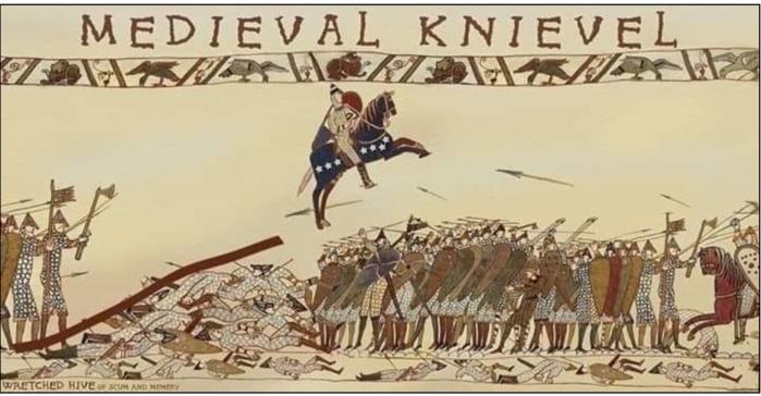Medieval Knievel