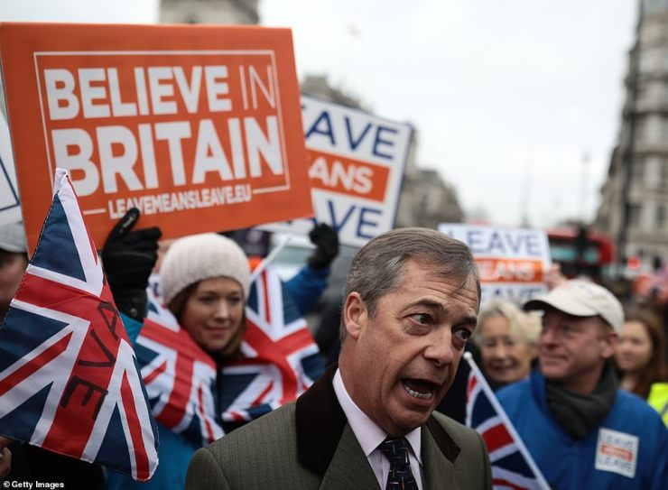 Nigel Farage-Believe in Britain