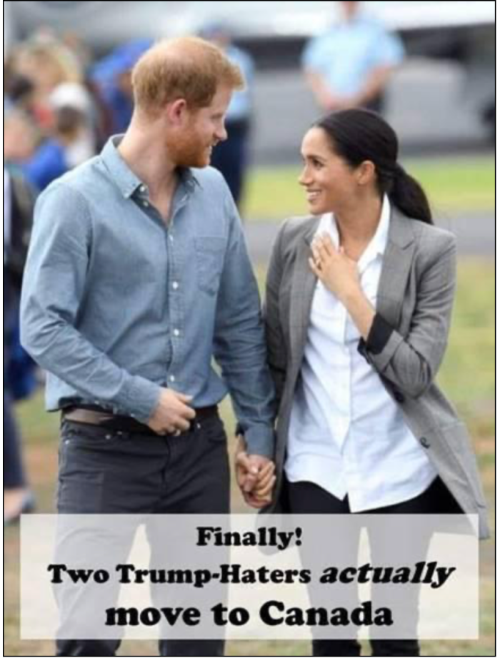 Prince Harry-2 Trump haters move to Canada
