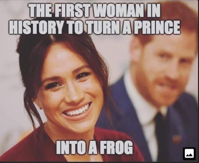 Prince into a frog