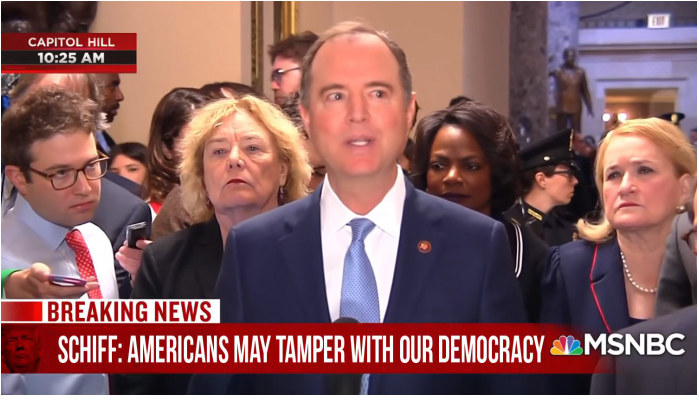 Schiff-for-brains_Americans may tamper with next election