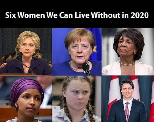 Six women we can live without