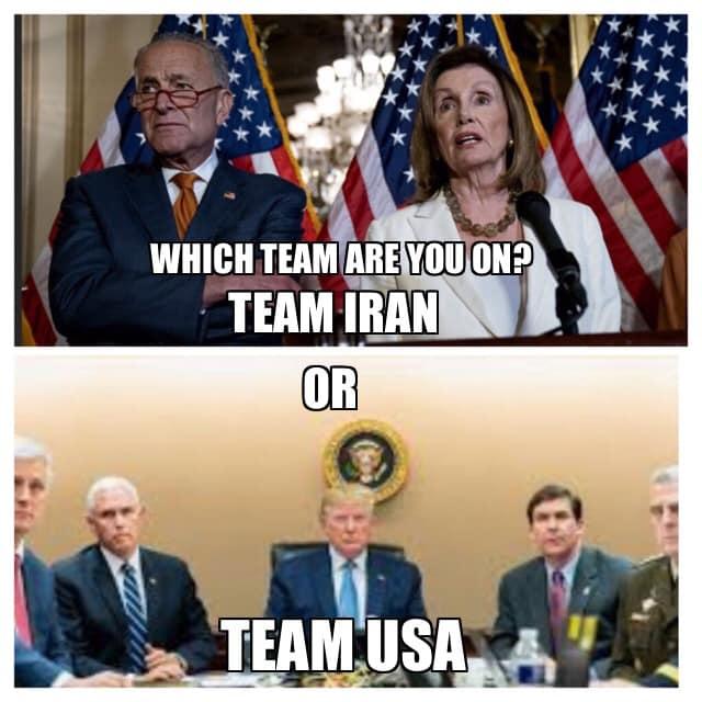 Team USA or Team Iran