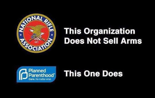 This Organization Does Not Sell Arms