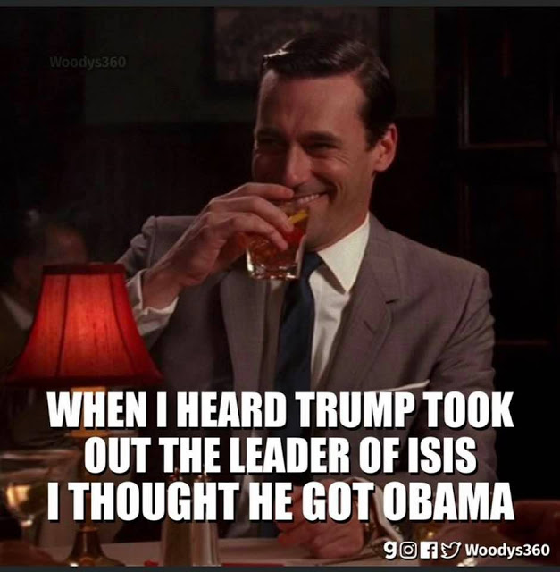 Trump took out leader of ISIS