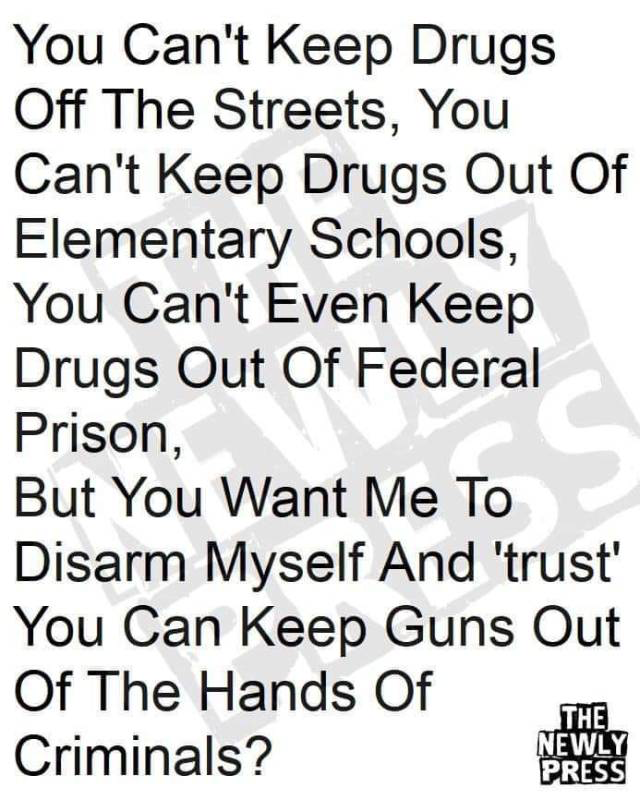 Trust the government-guns