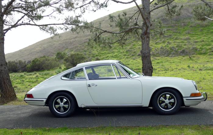 69 Porsche 912-Light Ivory rs