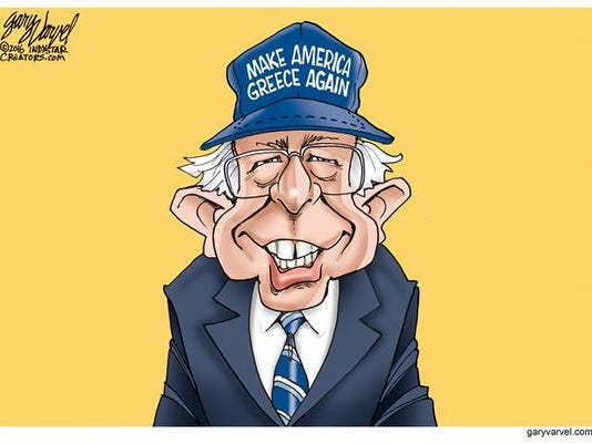 Bernie-Make America Greece Again