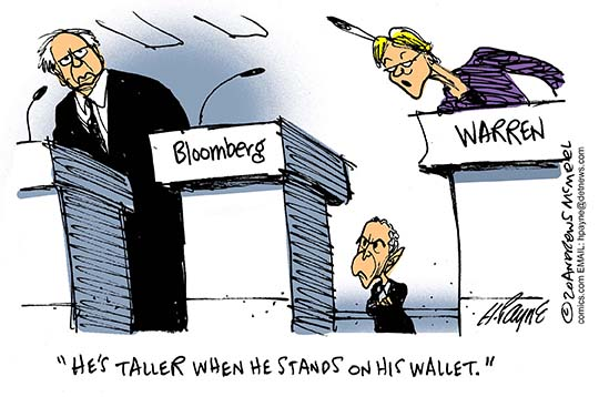 Bloomberg Debate