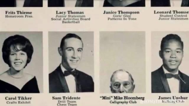 Bloomberg yearbook photo