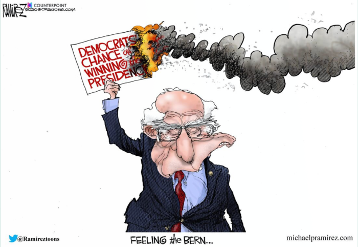 Bread Line Bernie-burning up 'RAT's chances of the WH