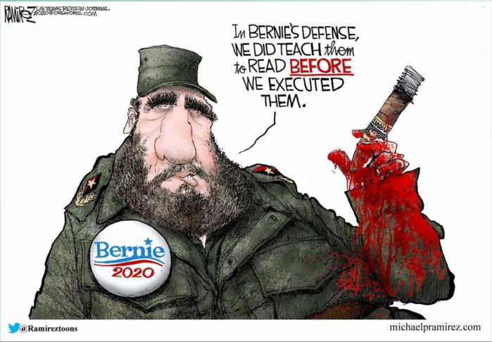 Bread Line Bernie-Fidel-literacy