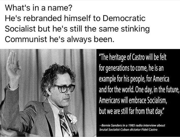 Bread Line Bernie on Castro