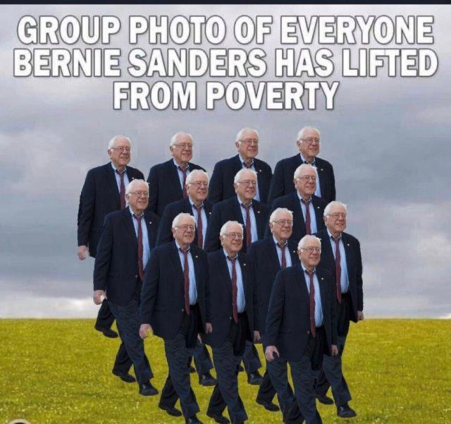 Bread Line Bernie-poverty