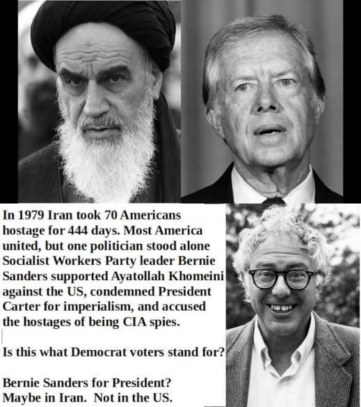 Commie Bernie-Ayatollah