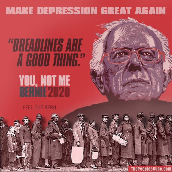 Commie Bernie - Make Depression Great Again