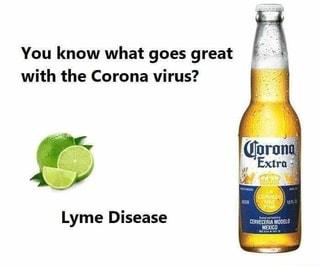 Coronavirus-lyme disease