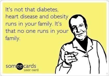 Diabetes runs in family