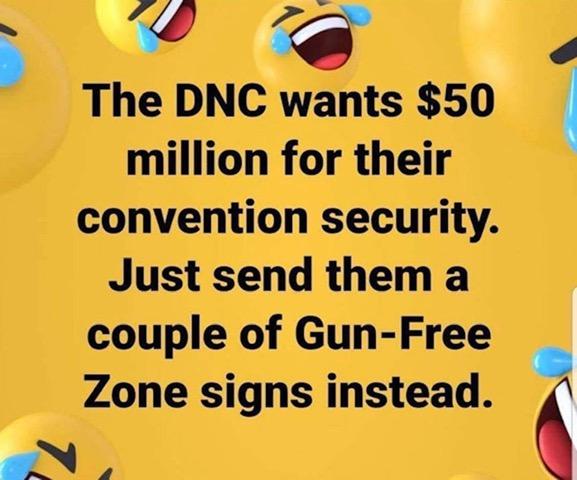 DNC-Gun Free Zones