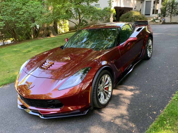 Eddie's Corvette
