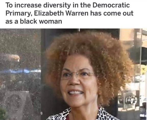 Fauxchahontas black woman