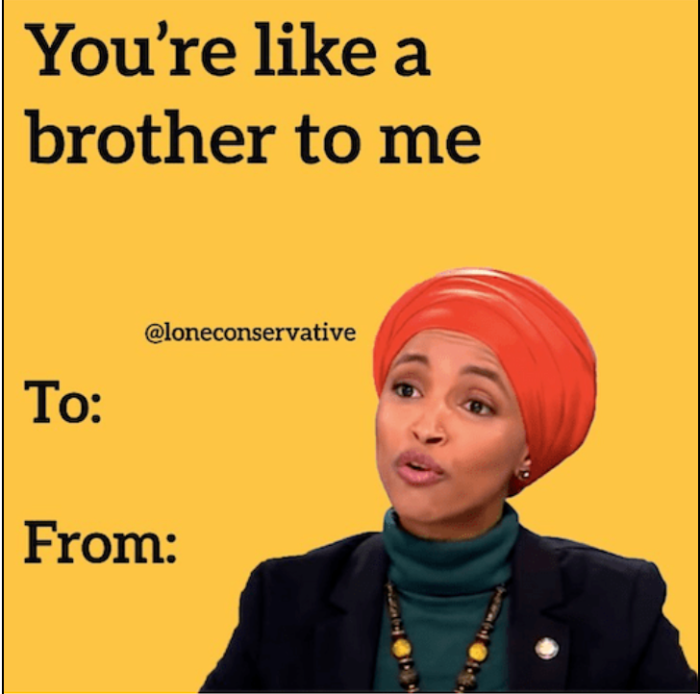 Ilhan Omar-like a brother