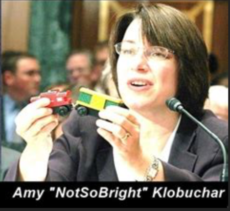 Klobuchar-Senator of Genius
