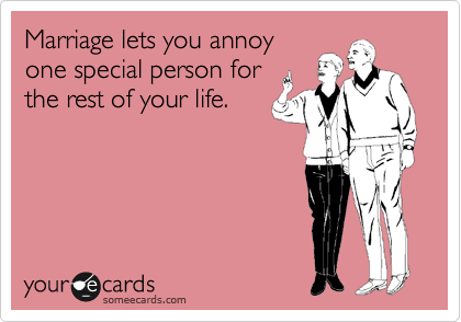 Marriage-annoy