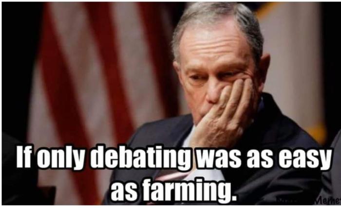 Mini-Mike farming vs debating