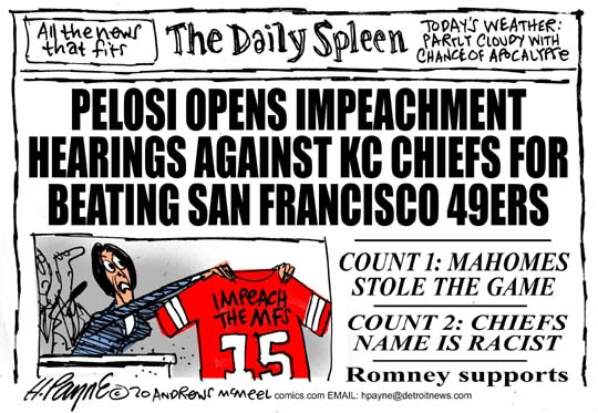 Nasty P. Lousy iImpeaches Chiefs