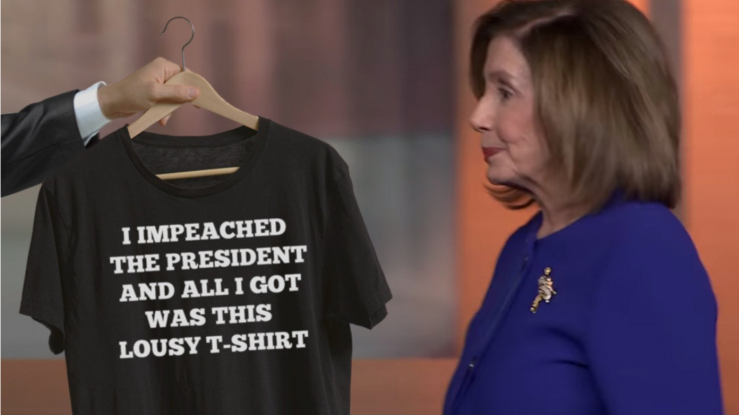 Nasty P. Lousy-Impeachment T-shirt