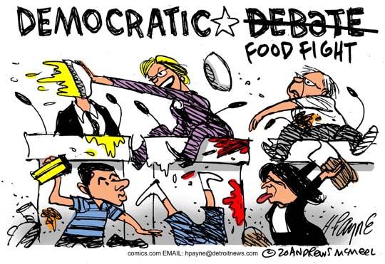 'RAT Debate Food Fight