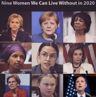 'RATs-9 wimmen we can live w:o in 2020