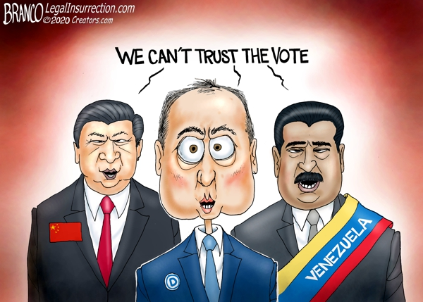 'RATs and commies can't trust the vote