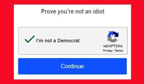 reCAPTCHA-Prove you're not an idiot
