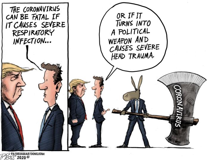 Trump-Corona virus