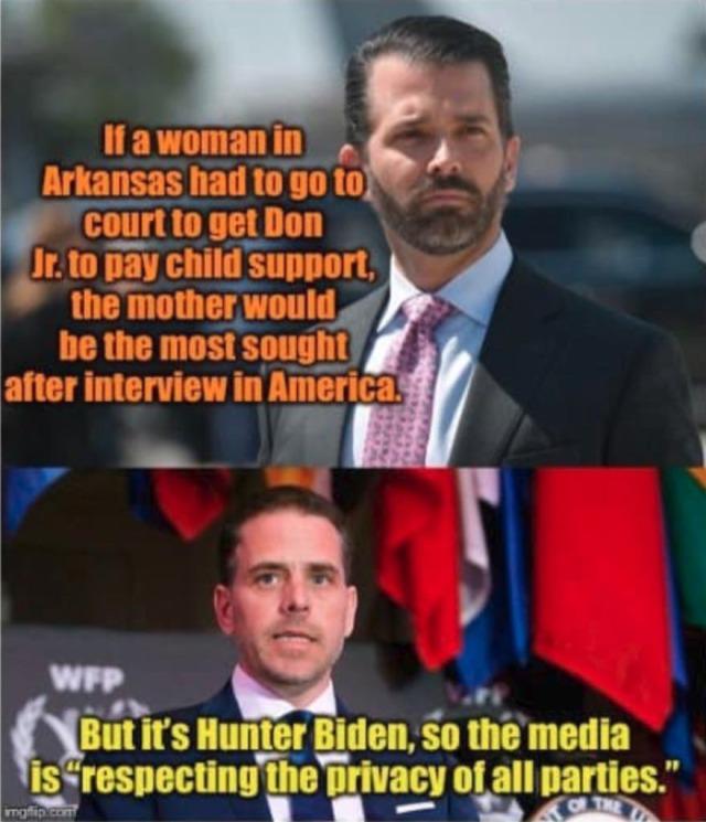 Trump, Jr. vs Hunter Biden