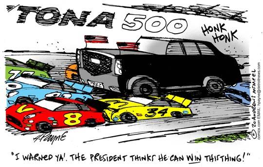 Trump Win Daytona 500