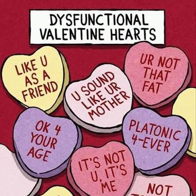 Valentine hearts-dysfunctional