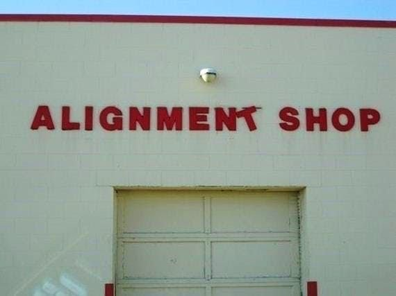 Alignment shop